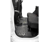 Bestop Rear Floor Liners for Jeep 18-Current Wrangler Unlimited