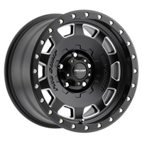 Pro Comp 60 Series Hammer, 17x9 Wheel with 5x5 Bolt Pattern