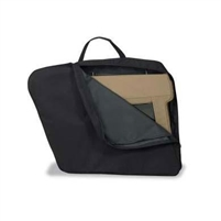 Bestop Upper Door Storage Bag in Black Denim for YJ/TJ/JK