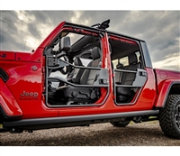 Bestop HighRock 4x4 Front Element Doors for 18-Current Jeep Wrangler JL and 20+ Gladiator JT