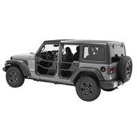 Bestop HighRock 4x4 Rear Element Doors for 18-Current Jeep Wrangler JL and 20+ Gladiator JT