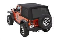 Bestop Trektop NX Glide Top (Black twill) JK 2 Door Models