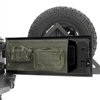 Smittybilt G.E.A.R. Tailgate Cover, Olive Drab for Jeep Wrangler JK 2 and 4 Door Models
