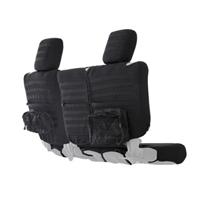 Smittybilt G.E.A.R. Custom Fit Rear Seat Cover (Black) for 18+ Jeep Wrangler JL 4 Door Models