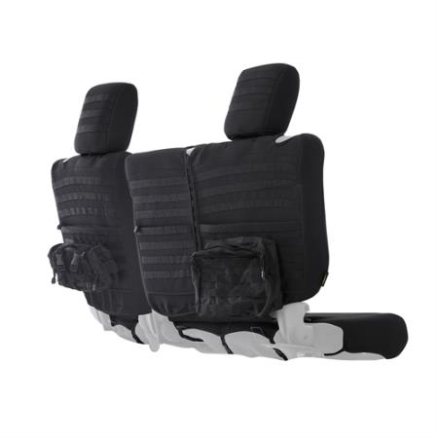 Jeep Wrangler Seat Covers >> Smittybilt G E A R Custom Fit Rear Seat Cover Black For 18 Jeep Wrangler Jl 4 Door Models
