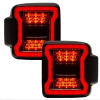 ORACLE Black Series LED Tail Lights for Jeep Wrangler JL