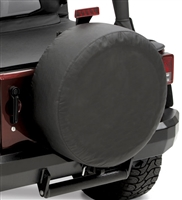 Bestop 32 Inch Spare Tire Cover in Black Diamond