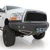 Smittybilt M1 Dodge Truck Winch Mount Front Bumper with D-ring Mounts and Light- 06-09