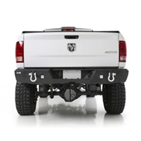 Smittybilt M1 Dodge Ram Rear Bumper with D-ring Mounts and Additional Rear Lights Included 2010-16