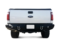 Smittybilt M1 Ford Rear Bumper with D-ring Mounts and Additional Rear Lights Included / 1999-2016
