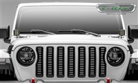 T-Rex Billet Grille, Brushed, 1 Pc, Insert without Forward Facing Camera for JL / Gladiator JT