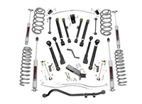 Rough Country 4inch Jeep X-Series Suspension Lift Kit with N3 Shocks