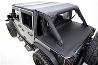 Rampage Products Tonneau Cover for 2007+ Jeep Wrangler JK Unlimited 4-Doors Model