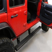 AMP Research Power Step With LED Lights 4-Door Jeep Wrangler JL 2018-2019