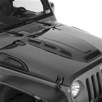 Smittybilt H.E.M.I. Vented Hood Heat Extracting for 07-18 Jeep Wrangler JK 2 and 4 Door Models