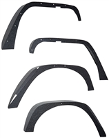 Smittybilt XRC Black Textured Fender Flare (4 pcs) 76837