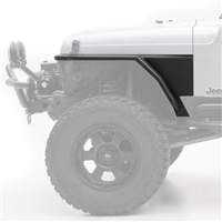 Smittybilt XRC Armor Front Tube Fenders with 3 Inch Flare