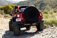 Rampage Spare Cover with Camera Slot for 18-20 Jeep Wrangler JL and JLU on 37inch Tires