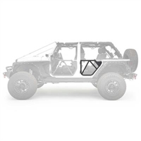 Smittybilt Rear Tube Doors for 18+ Jeep Wrangler JL