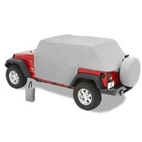 Bestop All Weather Full Door Coverage Trail Cover (Gray)