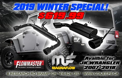 WINTER Special Deals Magnaflow and FlowMaster Exhaust Systems