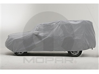 Mopar Vehicle Cover - Full - For Jeep Wrangler 4 Door Models
