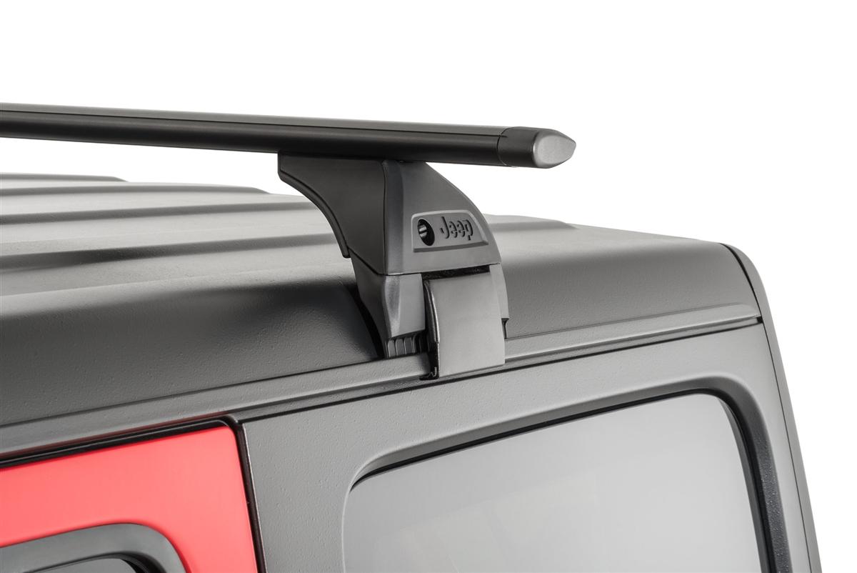 Mopar Removable Roof Rack Kit For 2018+ Jeep Wrangler JL 2 and 4 Door Models