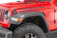 Mopar High Top Fender Flares Kit with LED Lights (Front / Rear) for 18-20 Jeep Wrangler JL