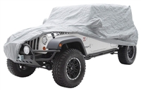 Smittybilt Full Climate Jeep Cover (Gray)