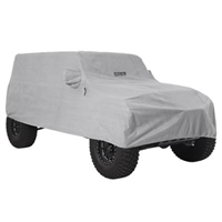 Smittybilt Full Climate Jeep Cover (Gray) for 18+ Jeep Wrangler JL 4 Door Models