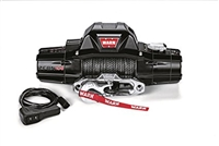 Warn ZEON 10-S Winch (12V DC) 100' Spydura Synthetic Rope and Hawse Fairlead