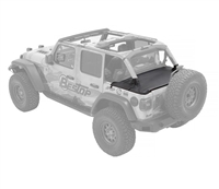 Bestop Duster Deck Cover - for 18-19 Jeep Wrangler JL 4-Door