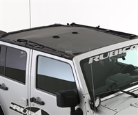 Smittybilt Cloak Mesh Sides and Rear for 18+ Jeep Wrangler JL