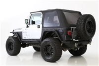 Smittybilt Bowless Combo Top With Tinted Windows (Black Diamond) For Jeep Wrangler (TJ)
