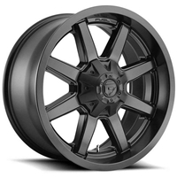 Fuel Maverick Matte Black Wheels - 17, 18, 20 and 22 inches