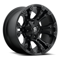 FUEL Vapor D560, 17x9 Wheel with 5 on 4.5 and 5 on 5 Bolt Pattern