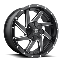 Fuel Off Road RENEGADE Black & Milled 17x9