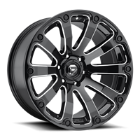Fuel Off Road DIESEL Black & Milled 20x9
