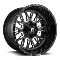Fuel Off Road STROKE Gloss Black & Milled  17x9