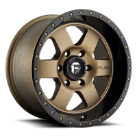 "FUEL PODIUM  BRONZE (17"" x 9"", -12 Offset, 5x 5 BOLT)"