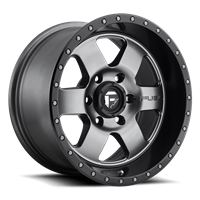 Fuel Off Road PODIUM  Anthracite with Black Lip 17x9