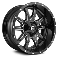 "FUEL VANDAL ( 17""X 9 X -12)  5X5 BOLTS"