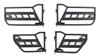 Fishbone Offroad Tube Door Set for 18-Current Wrangler JL, 2 and 4 Door Models