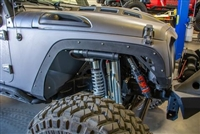 DV8 Offroad Fender Delete Kit (Front and Rear) for Jeep Wrangler JK 2 and 4 Door Models