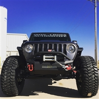 Iron Cross 18-19 JEEP WRANGLER JL STUBBY FRONT BUMPER WITH BAR