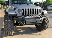 Iron Cross Full size Base Bumper - With Bar for 18-19 Jeep Wrangler JL / 2020 Jeep Gladiator JT