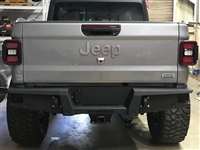 Iron Cross Full Size Rear Bumper - No Swing Away Tire Carrier for 2020 Jeep Gladiator JT