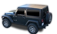 DV8 Offroad Hard Top Square Back for Jeep Wrangler JK, 2 door only