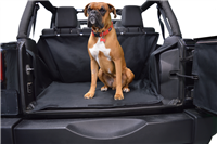 Dirtydog 4X4 Cargo Liner Without Side-Subwoofer for 07-18 Jeep Wrangler JK 4 Door Models