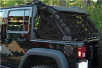 Spider Netting for Jeep Wrangler Unlimited JK cargo